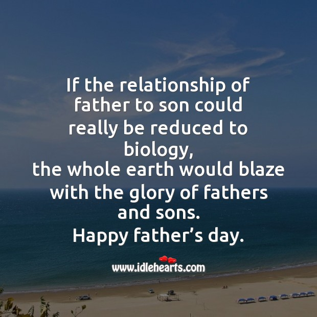 Happy father's day Father's Day Quotes Image