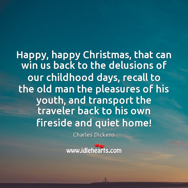 Image, Happy, happy Christmas, that can win us back to the delusions of