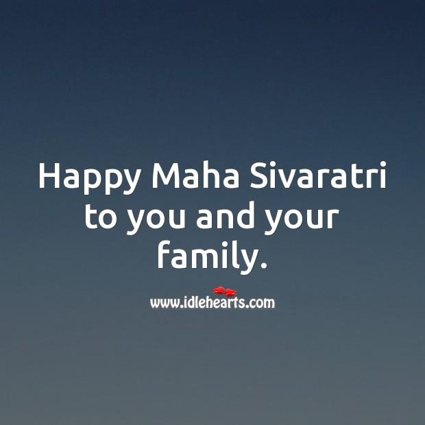 Image, Happy Maha Sivaratri to you and your family.