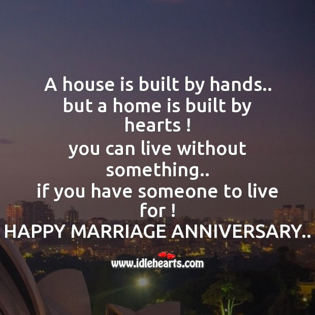 Happy marriage anniversary Image