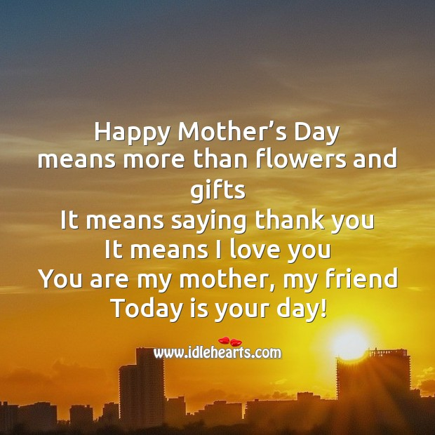 Happy mother's day Mother's Day Quotes Image