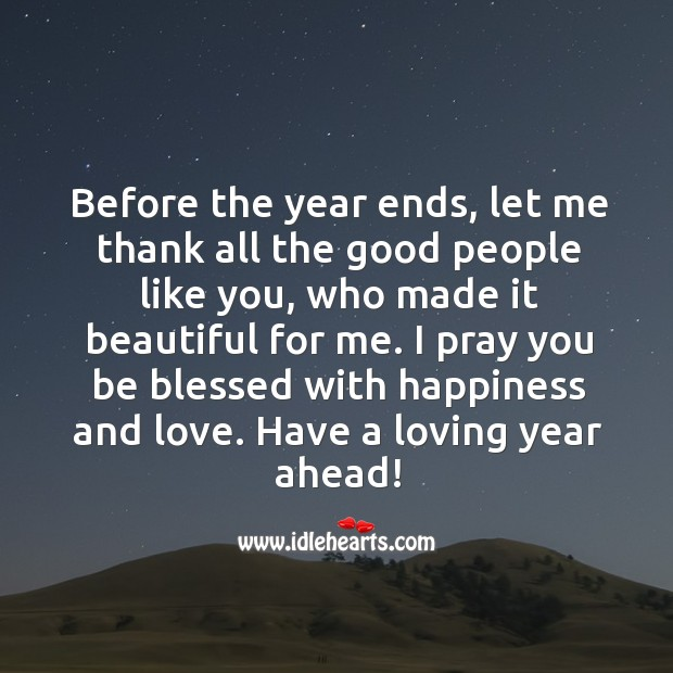 Image, Happy new year dear!