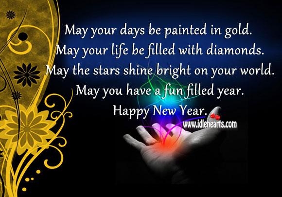Wishing Everyone A Fun Filled New Year.