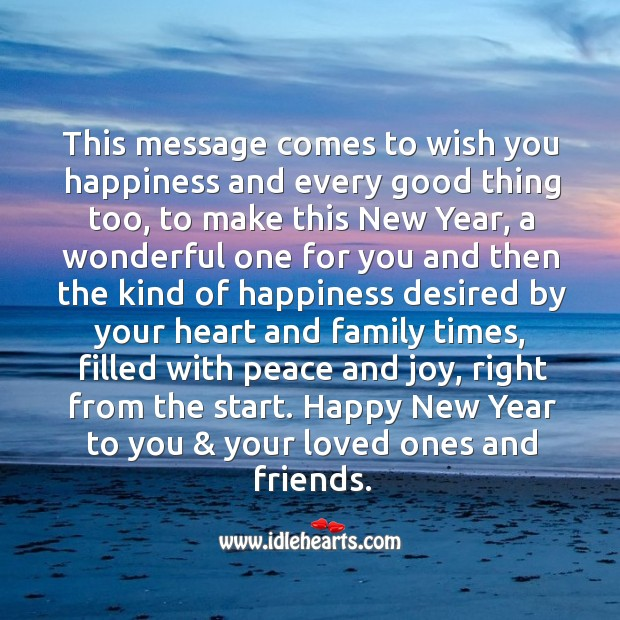 Image, Happy new year to you & your loved ones and friends.