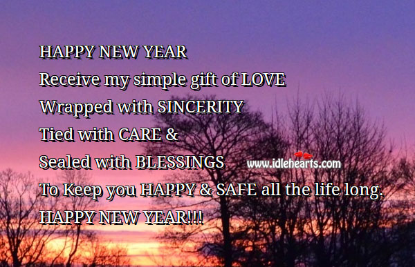 Happy New Year Messages