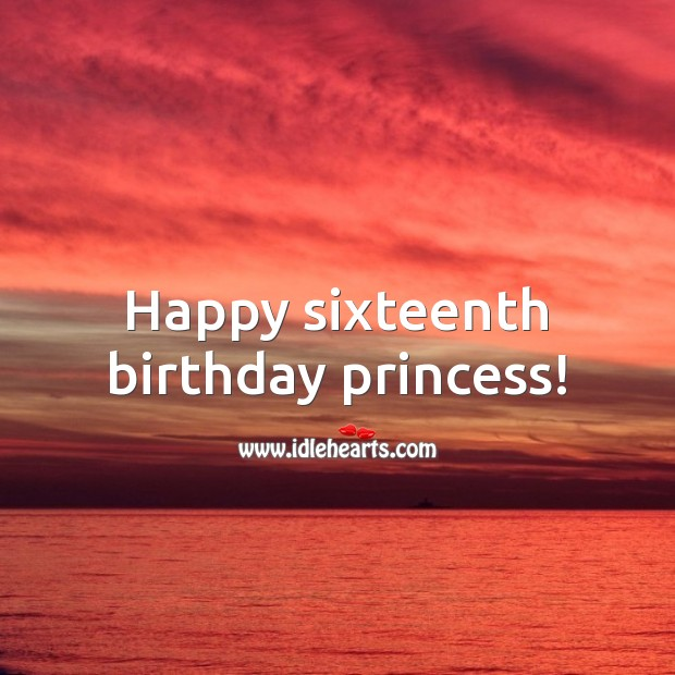 Sweet 16 Birthday Messages