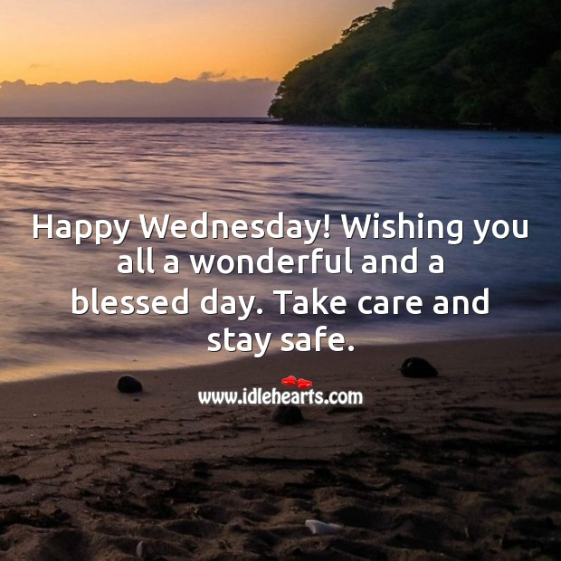 Happy Wednesday! Wishing you all a wonderful and a blessed day. Wednesday Quotes Image