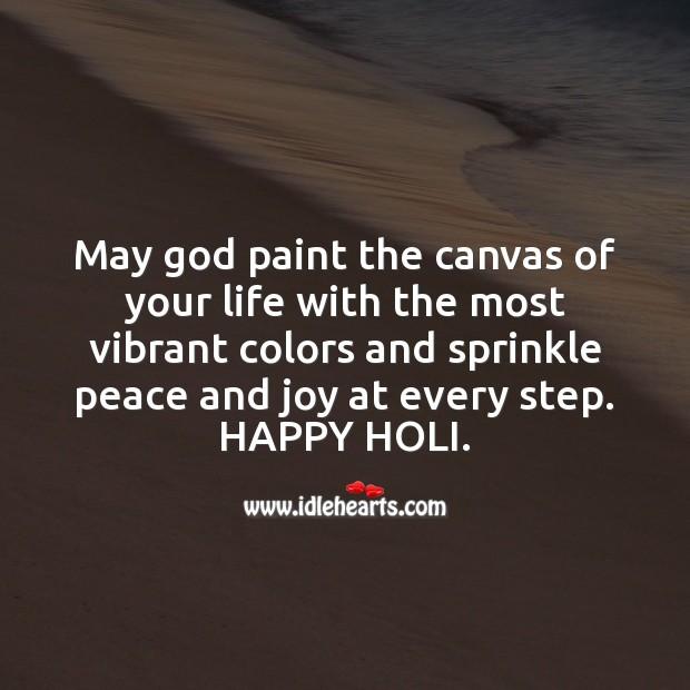 Have a joyful holi Holi Messages Image
