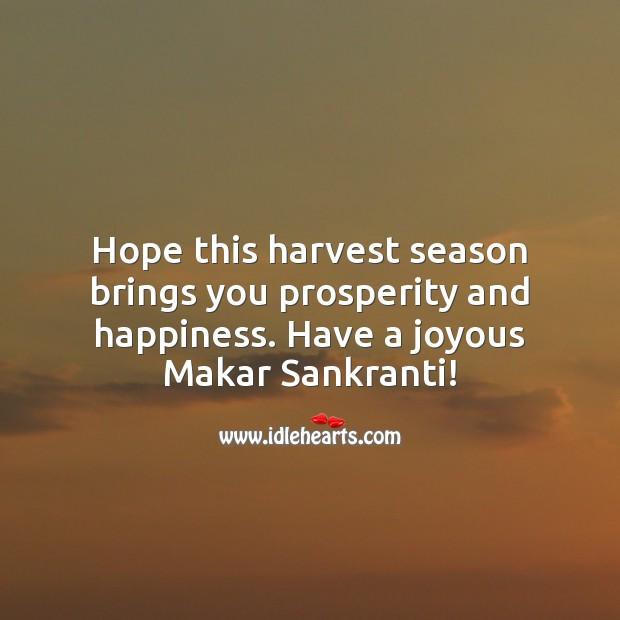 Image, Have a joyous Makar Sankranti!
