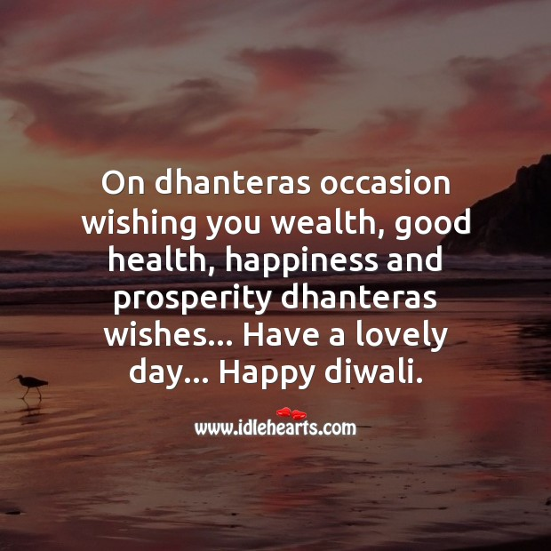Have a lovely day Diwali Messages Image