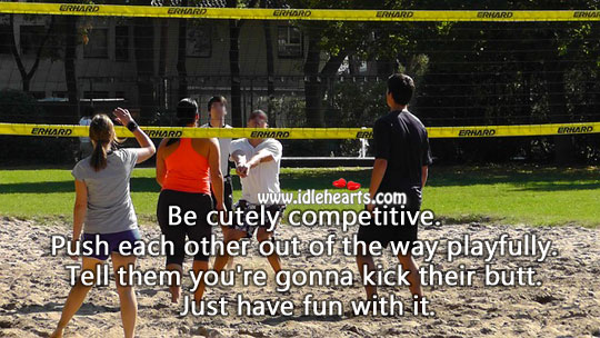 Be Cutely Competitive.