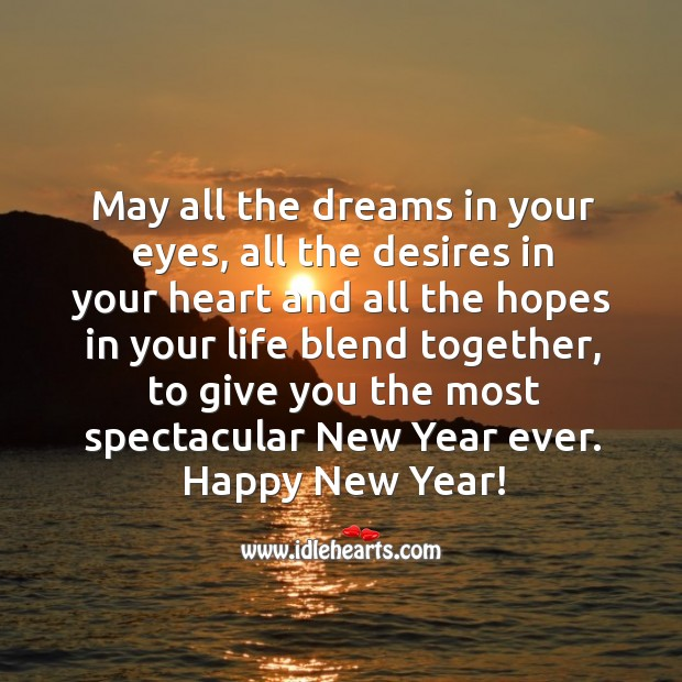 Image, Have the most spectacular new year ever.