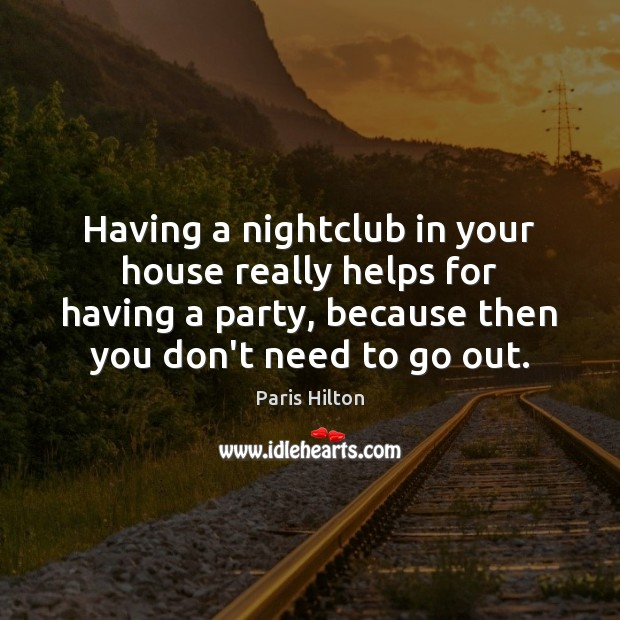 Image, Having a nightclub in your house really helps for having a party,