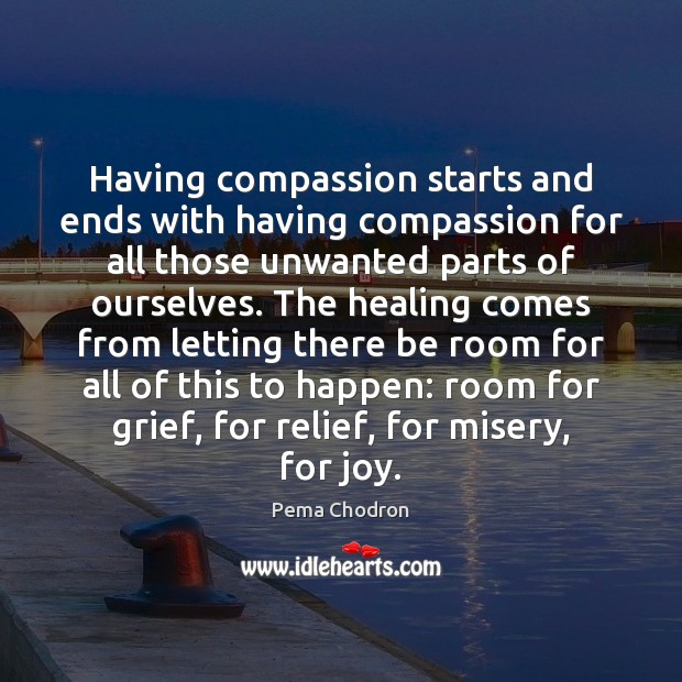 Image, Having compassion starts and ends with having compassion for all those unwanted