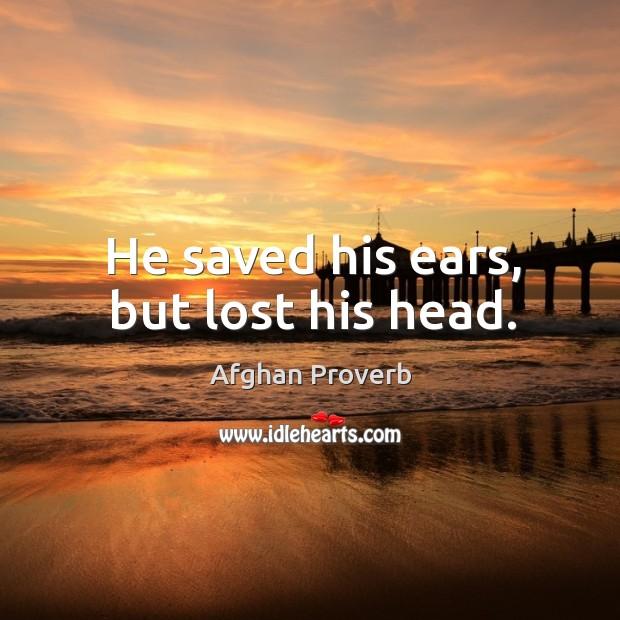 Afghan Proverbs