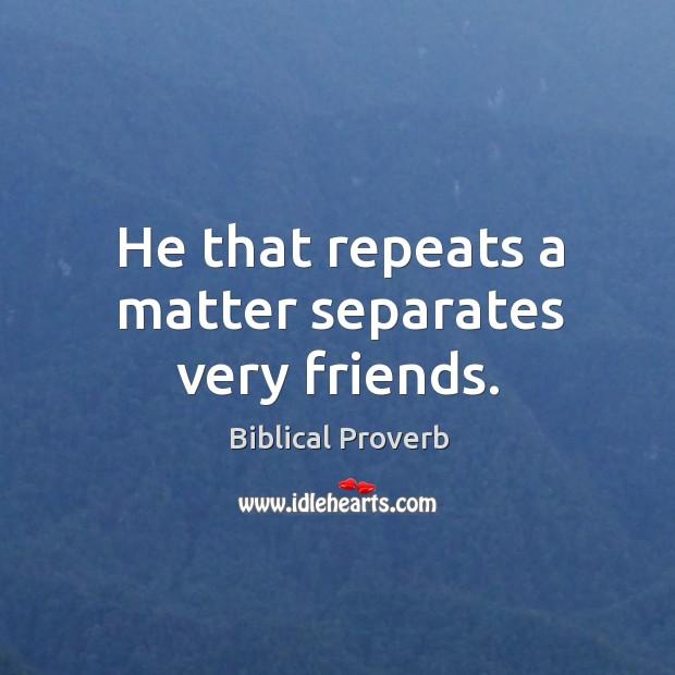 Biblical Proverbs