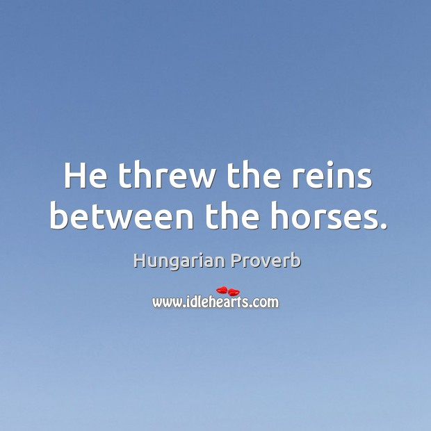 Hungarian Proverb Image
