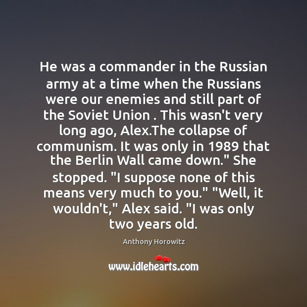 Image, He was a commander in the Russian army at a time when