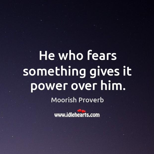 Moorish Proverbs