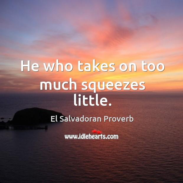El Salvadoran Proverbs