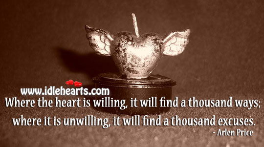 Heart Will Find A Thousand Ways