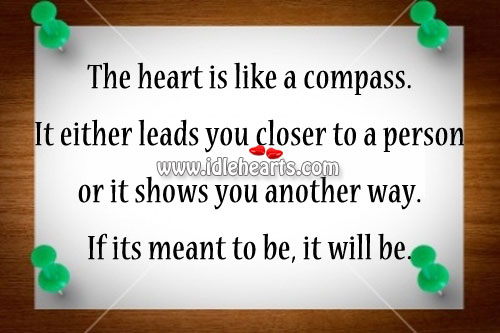 The Heart Is Like A Compass.