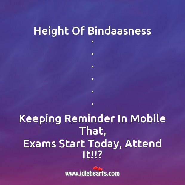 Height of bindaasness . Image