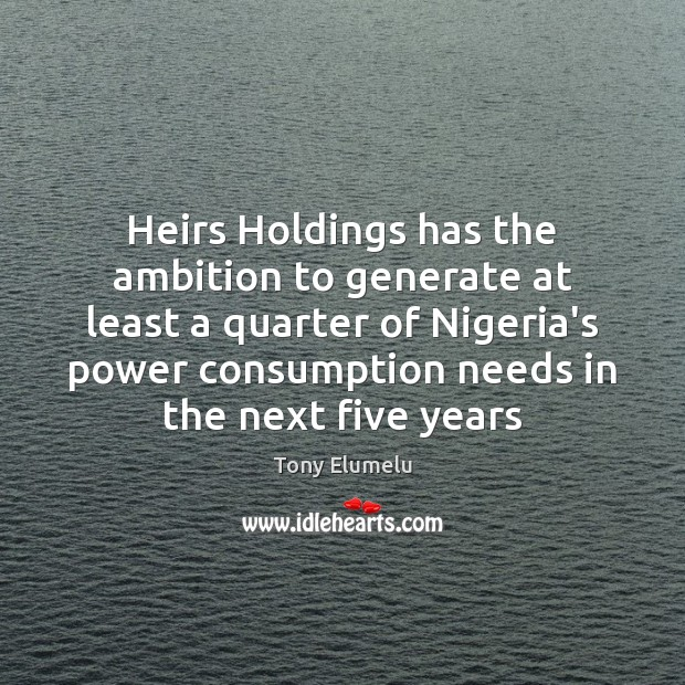Heirs Holdings has the ambition to generate at least a quarter of Image