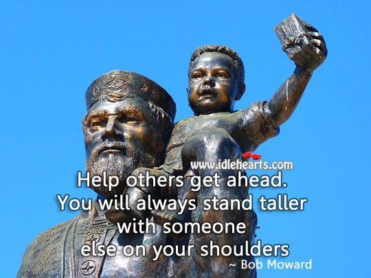 Image, Help others get ahead.