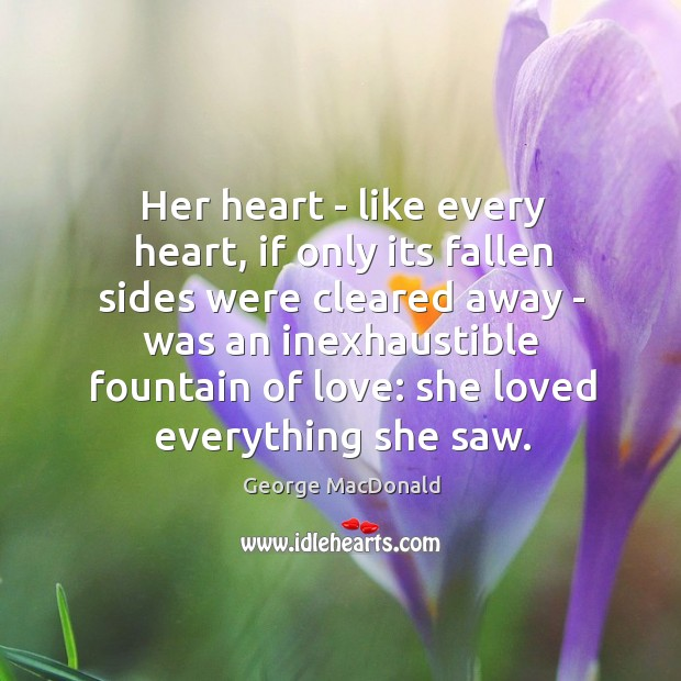 Image, Her heart – like every heart, if only its fallen sides were