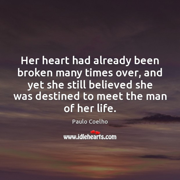 Her heart had already been broken many times over, and yet she Image