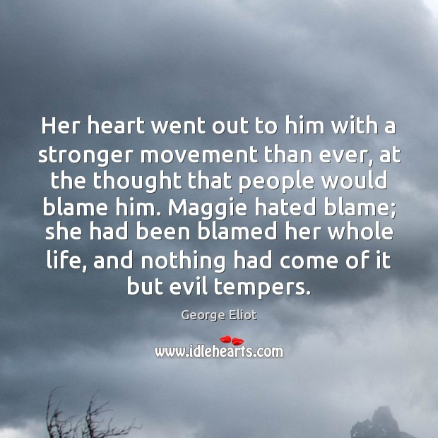 Her heart went out to him with a stronger movement than ever, Image