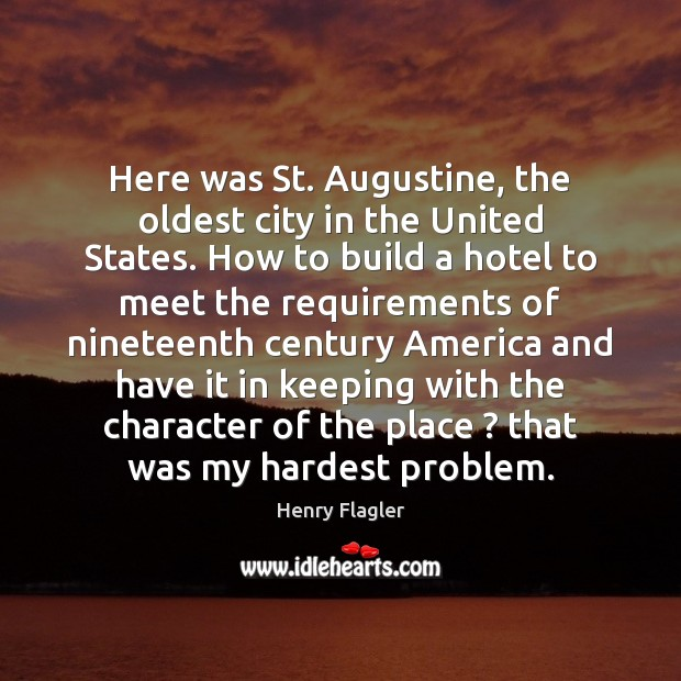 Here was St. Augustine, the oldest city in the United States. How Image