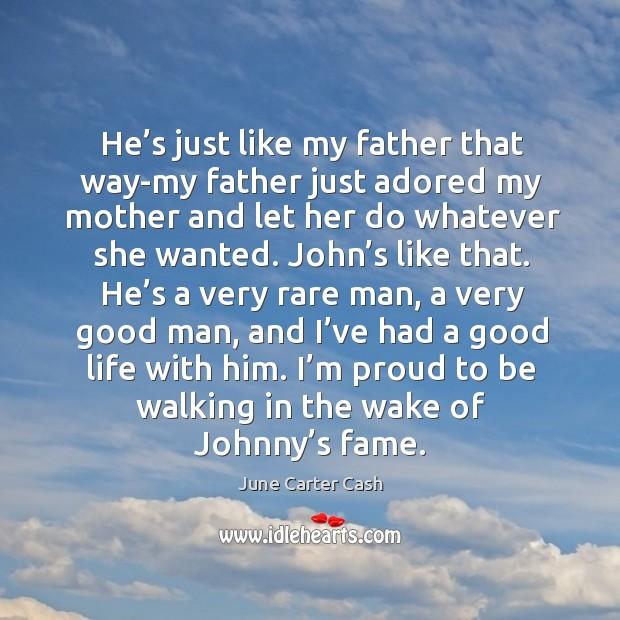 my father i admire