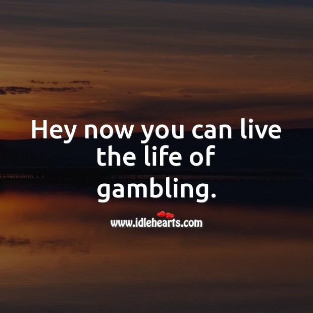 Hey now you can live the life of gambling. 21st Birthday Messages Image