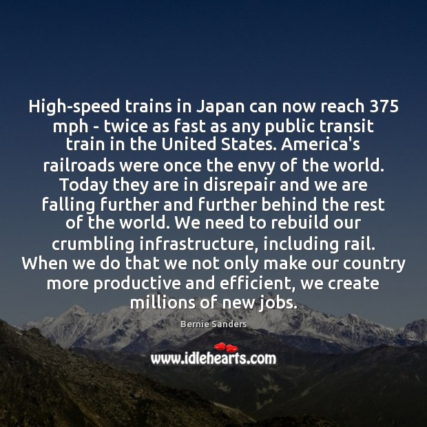Image, High-speed trains in Japan can now reach 375 mph – twice as fast