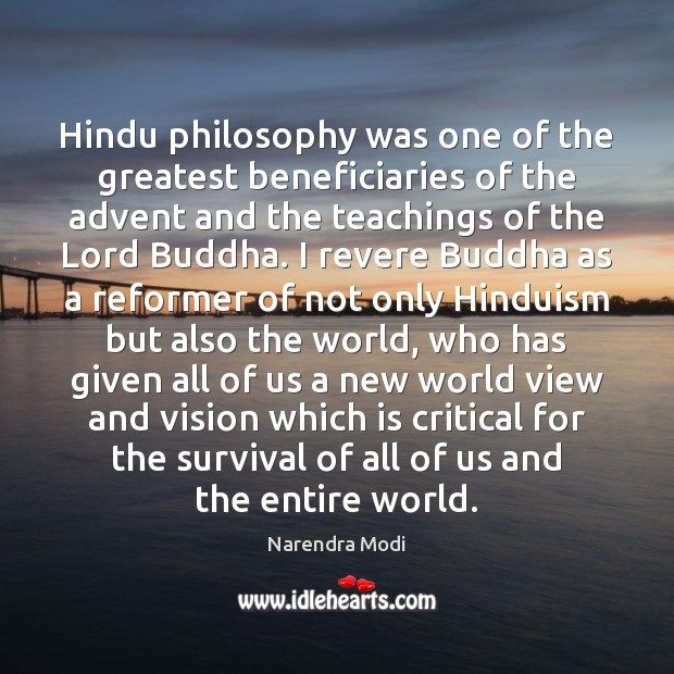 Image, Hindu philosophy was one of the greatest beneficiaries of the advent and