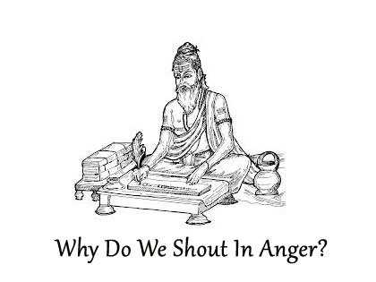 Image, Why do we shout in anger?