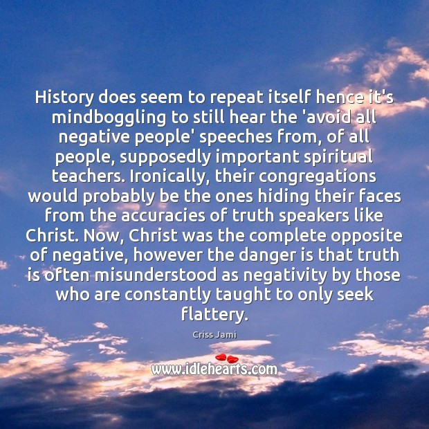 History does seem to repeat itself hence it's mindboggling to still hear Image