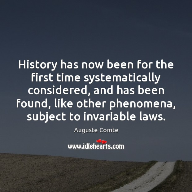 History has now been for the first time systematically considered, and has Image