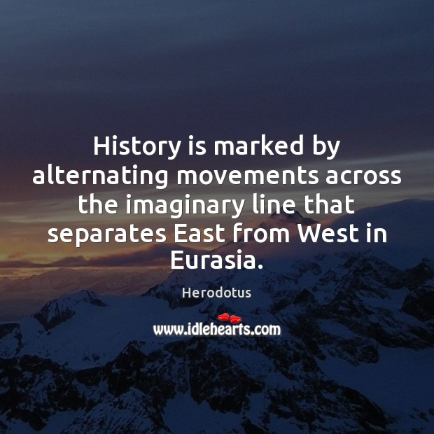 Image, History is marked by alternating movements across the imaginary line that separates
