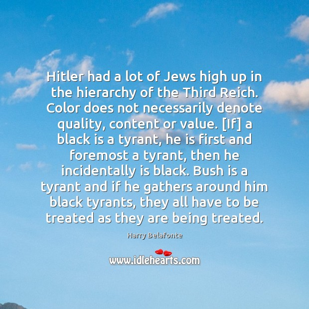 Image, Hitler had a lot of Jews high up in the hierarchy of
