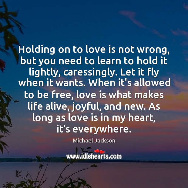 Holding on to love is not wrong, but you need to learn Image