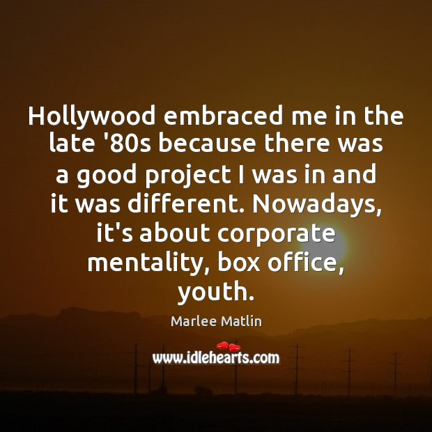 Picture Quote by Marlee Matlin