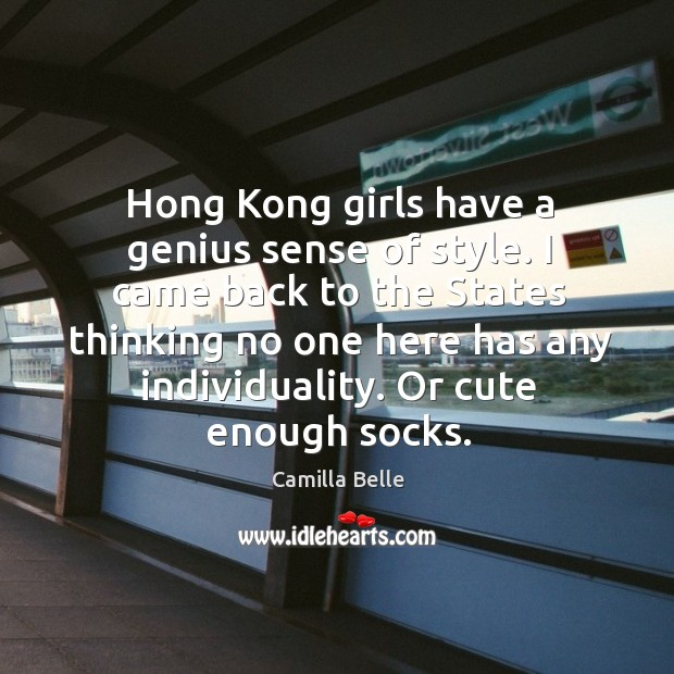 Image, Hong kong girls have a genius sense of style. I came back to the states thinking no one