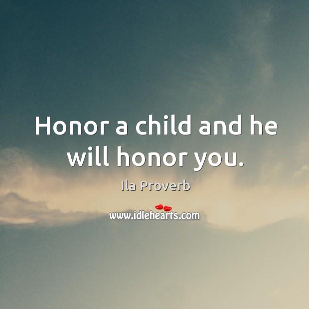 Ila Proverbs
