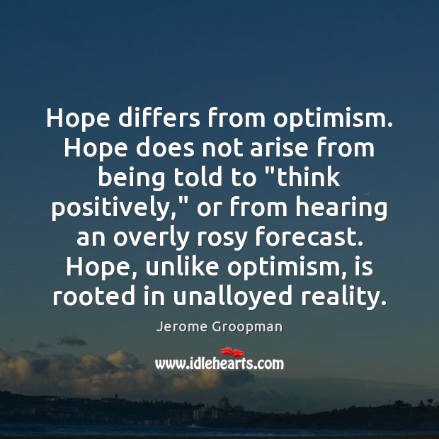 Picture Quote by Jerome Groopman