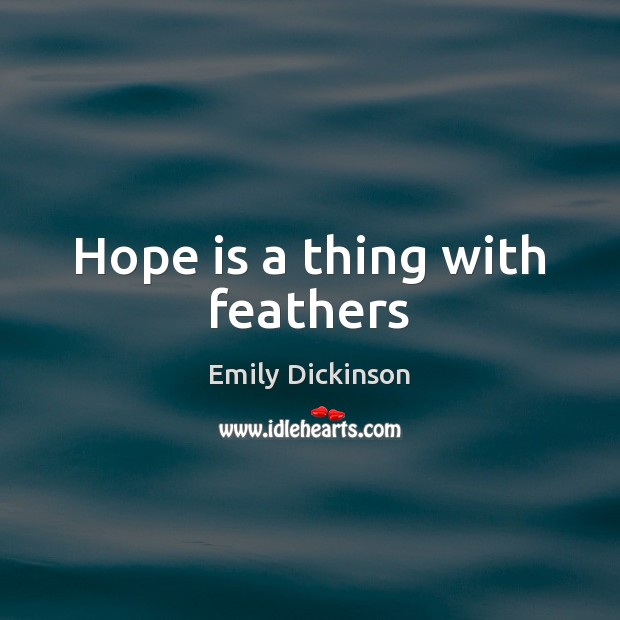 hope with the feathers Feathers for hope 482 likes profits from product purchases are invested to provide job opportunities for women who have fallen victim to labor and.