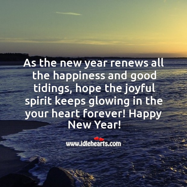 Hope the joyful spirit keeps glowing in the your heart forever. Image