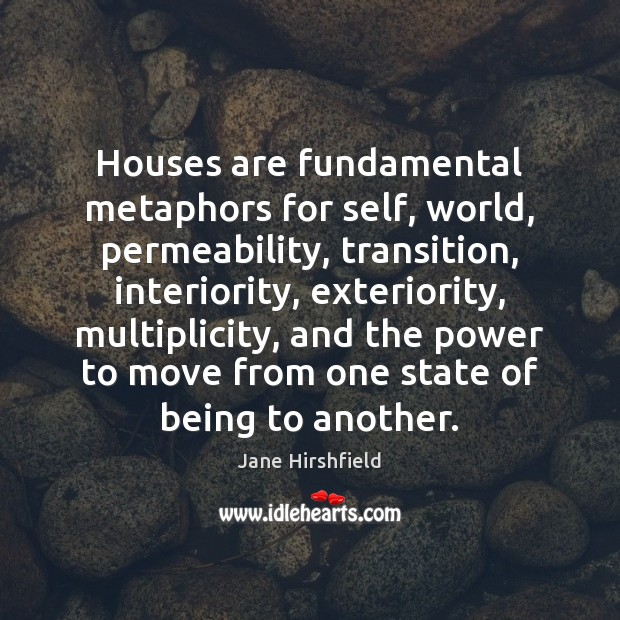 Picture Quote by Jane Hirshfield
